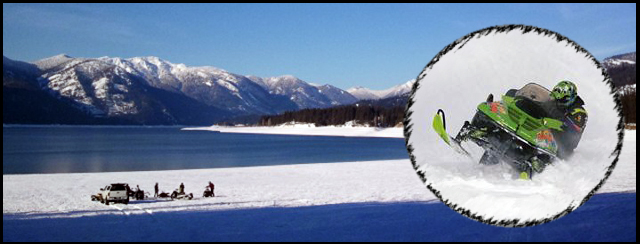 Winter Recreation at Lake Cle Elum