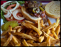 #9 Miner's GrilL Burger