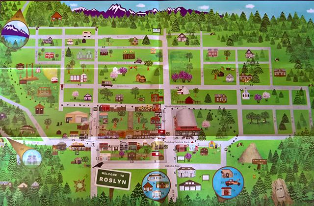 Roslyn Map